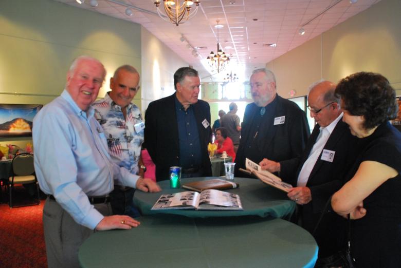 Ken Fagan, Jack Cook, John Dowdle, Ron Brimhall, Mr. and Mrs. John Vigil